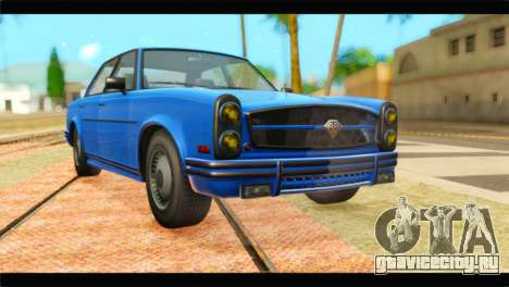 GTA 5 Benefactor Glendale Special для GTA San Andreas