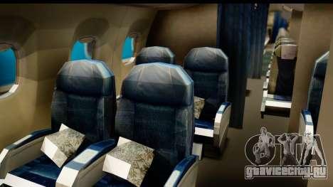 Embraer 175 PLL LOT Retro для GTA San Andreas вид сзади