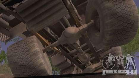 КамАЗ 43101 для GTA San Andreas вид справа