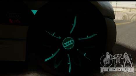 Audi A9 Concept для GTA San Andreas вид сзади слева