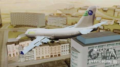 GTA 5 Caipira Airways для GTA San Andreas вид слева