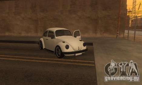 Volkswagen Beetle 1984 для GTA San Andreas вид сбоку