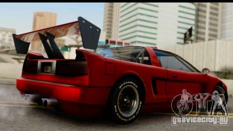 Tuned Infernus для GTA San Andreas вид слева