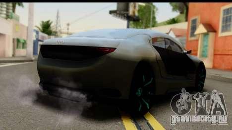 Audi A9 Concept для GTA San Andreas вид слева