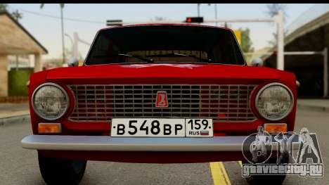ВАЗ 2101 FOX для GTA San Andreas вид сзади слева