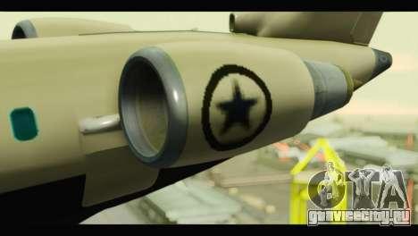 GTA 5 Buckingham Miljet Update для GTA San Andreas вид справа