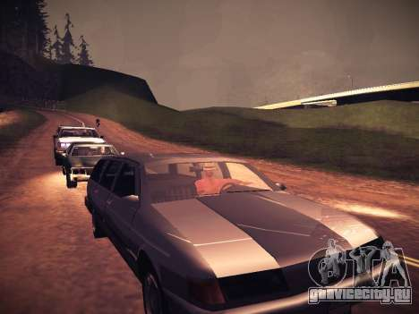 ENB Caramelo для GTA San Andreas четвёртый скриншот