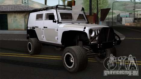 Jeep Wrangler 2013 Fast & Furious Edition для GTA San Andreas