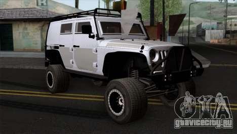 Jeep Wrangler 2013 Fast & Furious Edition для GTA San Andreas