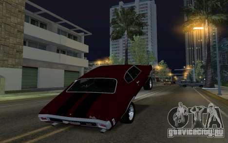 Мусорная Машина для GTA San Andreas третий скриншот