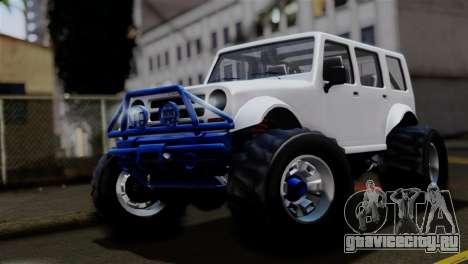 GTA 5 Canis Mesa Merryweather для GTA San Andreas