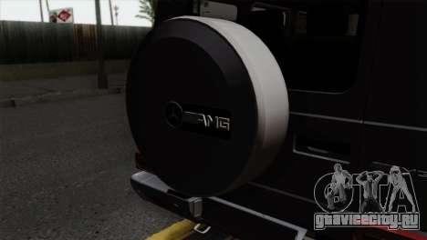 Mercedes-Benz G65 AMG Carbon Edition для GTA San Andreas вид сзади