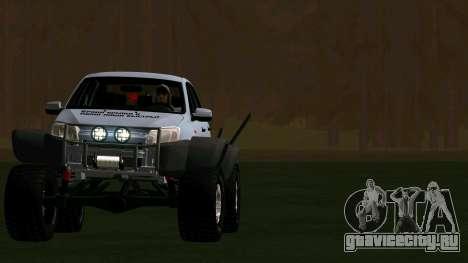 ВАЗ 2190 Гранта для GTA San Andreas вид сзади