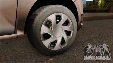 Dacia Logan MCV 2013 IVF для GTA San Andreas вид сзади слева