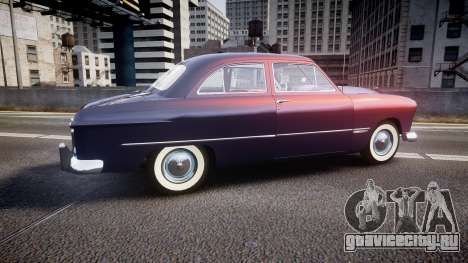 Ford Custom Tudor 1949 v2.2 для GTA 4 вид слева