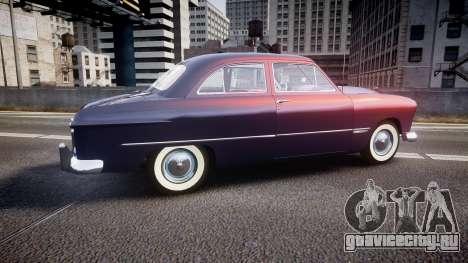 Ford Custom Tudor 1949 v2.2 для GTA 4 вид слева
