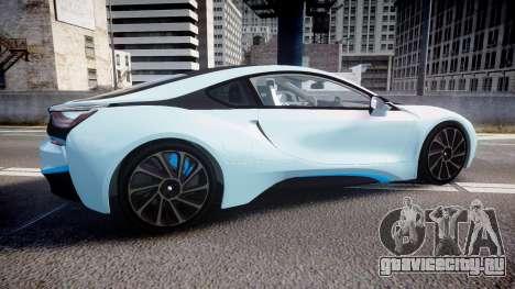 BMW i8 2013 для GTA 4 вид слева