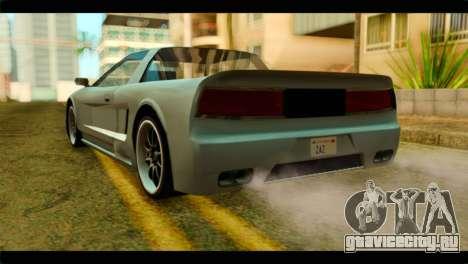 Infernus Rapide S для GTA San Andreas вид слева