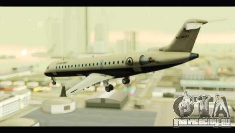 GTA 5 Buckingham Miljet Update для GTA San Andreas вид слева