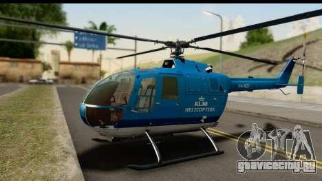 MBB Bo-105 KLM для GTA San Andreas