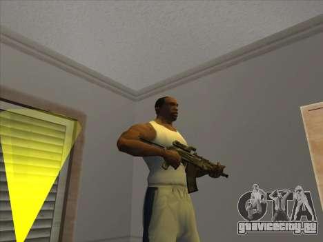 Отличные русские автоматы для GTA San Andreas второй скриншот