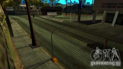 HQ Roads 2015 для GTA San Andreas третий скриншот