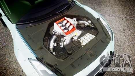 Nissan GT-R R35 Rocket Bunny [Update] для GTA 4 вид сбоку