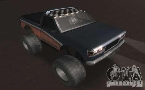 Новые текстуры Monster Final для GTA San Andreas вид справа