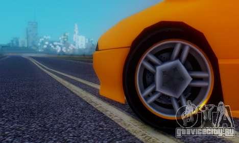 Elegy Hatchback v.1 для GTA San Andreas вид сверху