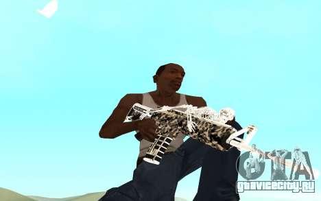 Skeleton Weapon Pack для GTA San Andreas второй скриншот