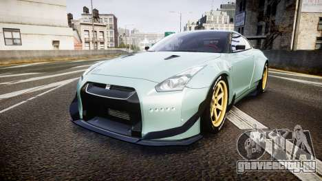 Nissan GT-R R35 Rocket Bunny [Update] для GTA 4