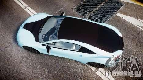 BMW i8 2013 для GTA 4 вид справа