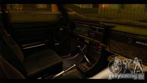 ВАЗ 21074 для GTA San Andreas вид справа