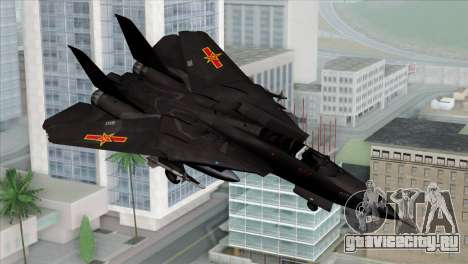 F-14 China Air Force для GTA San Andreas