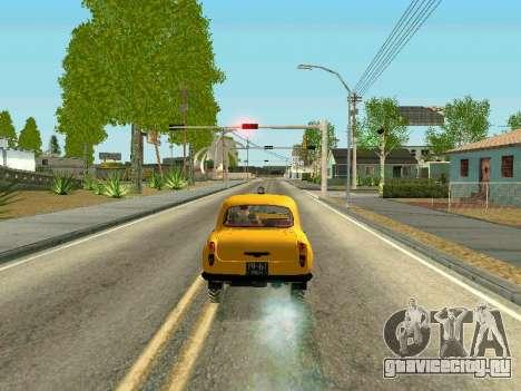 Москвич 410 В для GTA San Andreas вид сзади слева