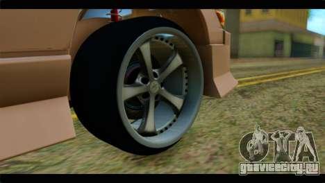 Nissan Silvia для GTA San Andreas вид сзади слева