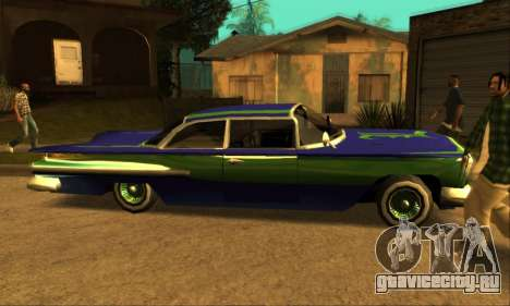 Luni Voodoo для GTA San Andreas вид справа