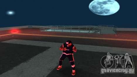 Замена бомжа v1 для GTA San Andreas четвёртый скриншот