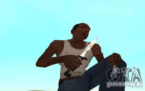 Skeleton Weapon Pack для GTA San Andreas пятый скриншот