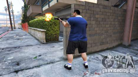 Ped Riot (Бунт жителей Лос-Сантоса) для GTA 5 второй скриншот