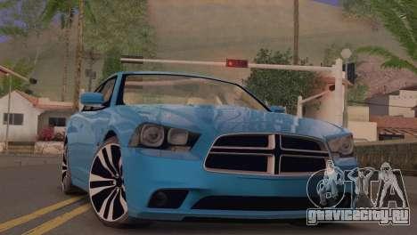 Dodge Charger SRT8 2012 Stock Version для GTA San Andreas