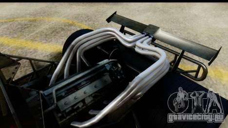 Flip Car 2012 для GTA San Andreas вид сзади слева