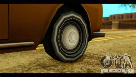 Stafford Limousine для GTA San Andreas вид сзади слева