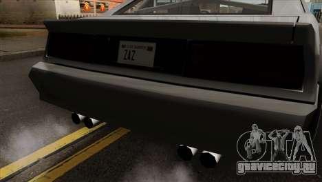 Buffalo Supercharged для GTA San Andreas вид сзади