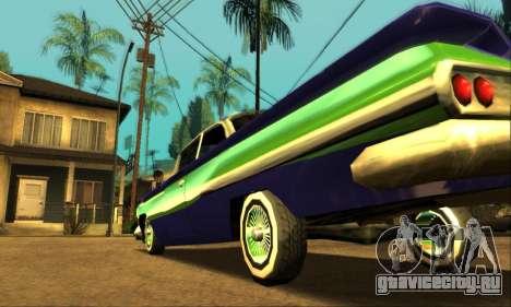 Luni Voodoo для GTA San Andreas вид снизу