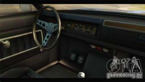 GTA 5 Benefactor Glendale Special для GTA San Andreas вид справа