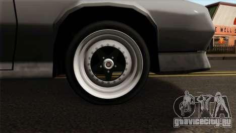Buffalo Supercharged для GTA San Andreas вид сзади слева