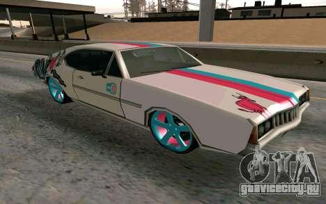 Clover Blink-182 Edition для GTA San Andreas вид сзади