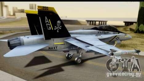 FA-18D VFA-103 Jolly Rogers для GTA San Andreas вид слева