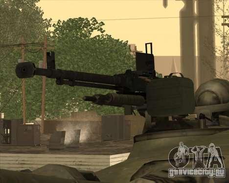 Т-72 для GTA San Andreas вид сбоку